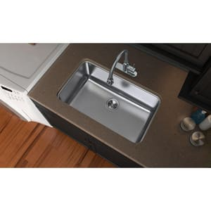 Elkay Pursuit™ 1-Bowl Under-Counter Laundry Sink in Lustertone EPLAUH281612