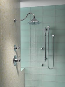 Brizo Traditional® Shower Arm and Flange DRP54168