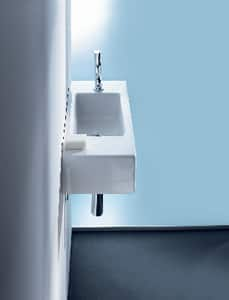 Duravit USA Vero® 1-Bowl Handrinse Basin with Overflow in White D07035000001