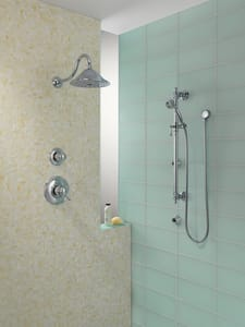 Brizo Traditional® Thermostatic Valve Trim with Single Lever Handle DT66T036