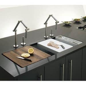 Kohler Karbon® 2-Hole Articulating Kitchen Sink Faucet with Single Lever Handle K6227-C12