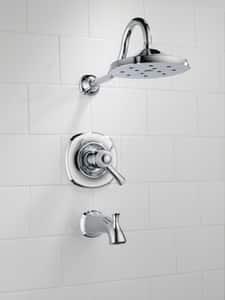 Delta Faucet Addison™ Single Lever Handle Tub and Shower Trim (Trim Only) DT17T492