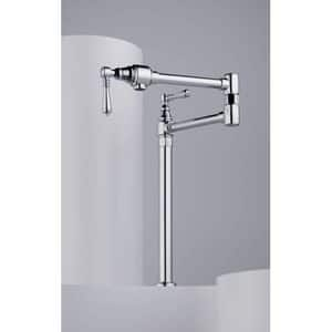 Delta Faucet Traditional® 1-Hole Deckmount Pot Filler with Double Lever Handle D62710LF