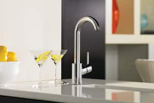 Hansgrohe Talis S 1.5 gpm 1-Hole Bar or Prep Faucet with Single Lever Handle H04287