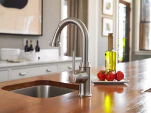 Hansgrohe Talis C 2.2 gpm Single Lever Handle Deckmount Kitchen Sink Faucet 150 Degree Swivel Pull-Down Spout 3/8 in. Connection H04216