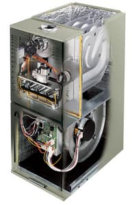 Trane XV80 Series 17-1/2 in. 80% AFUE 3 Ton Two-Stage Upflow and Horizontal Left 1/2 hp Natural or LP Gas Furnace TTUD2BA9V3VB