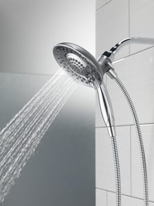 Delta Faucet In2ition® 2.5 gpm 2-in-1 Integrated Shower System D58045