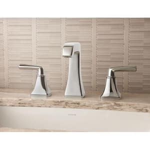 Pfister Park Avenue™ Widespread Lavatory Faucet with Double Lever Handle PGT49FE0