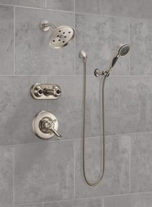 Delta Faucet 2.5 gpm 3-Setting Wall Mount Hand Shower with Hose D55021