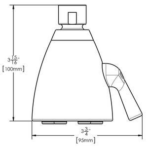 Speakman Icon™ 2.5 gpm 6-Jet 48 Sprays Showerhead SS2252