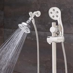 Speakman Caspian™ 2.5 gpm Combination Handheld Shower and Showerhead SVS123014