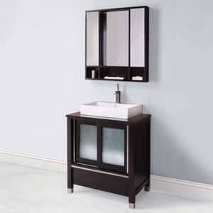 DECOLAV® Tyson 31 in. Vitreous China Vanity Cabinet D5247