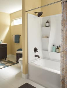 Delta Faucet Lahara® Tub with Double Lever Handle and Shower Trim (Trim Only) DT17438H2O