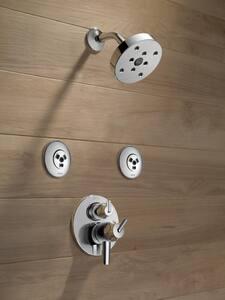Delta Faucet Contemporary™ 2 gpm 1-Setting Raincan Showerhead DRP70175