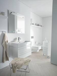 Duravit USA Vero® 3-Hole Washbasin in White Alpin D04541200001