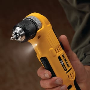 DEWALT 3/8 in. 20V Comp Right Angle Drill and Driver Kit DDCD740C1