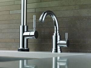 Brizo Euro 1-Hole Deckmount Bar Faucet with Single Lever Handle D61320LF