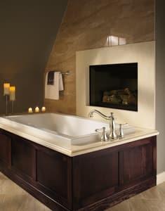 Delta Faucet Cassidy™ 2 gpm 3-Hole Roman Tub Trim (Trim Only) DT2797LHP