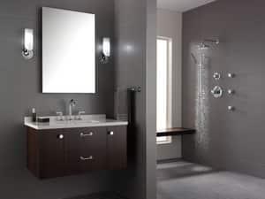 Delta Faucet Odin® 11-3/4 in. 60W 1-Light Candelabra E-12 Base Vanity Light D697075