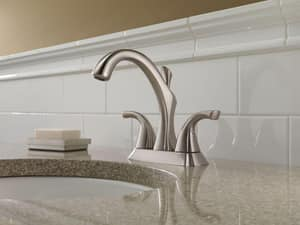 Delta Faucet Addison™ 3-Hole Centerset Lavatory Faucet with Double Lever Handle and 4-7/8 in. Spout Height D2592MPUDST