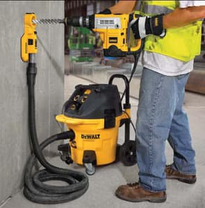 Dewalt 2 in. Dust Extractor for Hole Cleaning DDWH050K