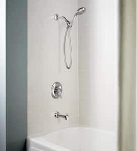 Moen Denika® Metal Tub and Shower Faucet Trim M82733