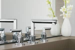 Moen Arris® Double Lever Handle Widespread Lavatory Faucet MTS43002