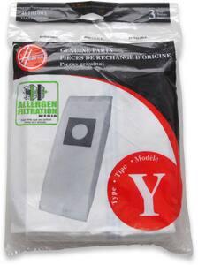Hoover Company Type Y Vacuum Bag 3 Pack for Joseph G. Pollard HCH53005 Vacuum Cleaner H4010100Y
