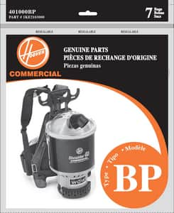 Hoover Company Standard Vacuum Bag Pack of 7 H401000BP at Pollardwater