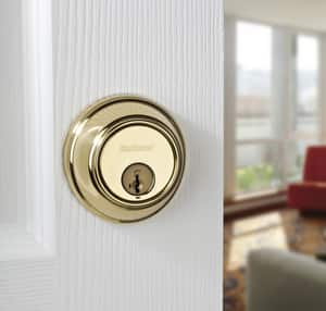 Kwikset Key Control™ Single Cylinder Key Control in Satin Nickel K81615SMTRCALRCS