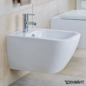 Duravit USA Happy D 21-1/4 in. Bidet in White D2258150000