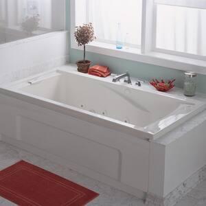 American Standard Green Tea™ 60 x 36 in. Acrylic Drop-In Rectangular Bathtub in White A3571002020