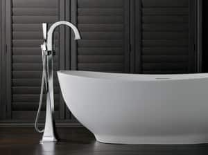 Brizo Virage® 14.5 gpm Freestanding Tub Filler with Single Lever Handle (Trim Only) DT70130