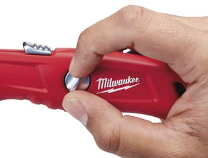 Milwaukee 5-3/4 in. Self Retractable Safety Knife M48221915