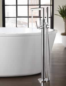 Moen Arris® Single Lever Handle Roman Tub with Hand Shower MS93005