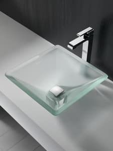 Delta Faucet Metal Square Push Pop-Up (Less Overflow) D72174