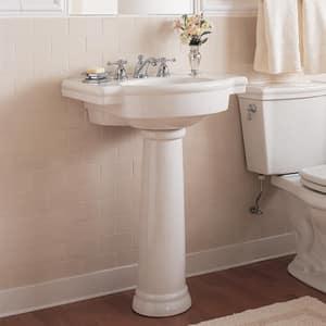 American Standard Boxe® 1-Hole Drop-In Semi-Countertop Rectangular Lavatory Sink in White A0342001020