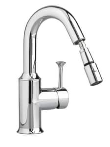 American Standard Pekoe® Bar Faucet with Pull-Down Sprayer and Single Lever Handle A4332410F15