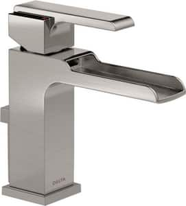 Delta Faucet Ara® 1.5 gpm Single Lever Handle Lavatory Faucet with Channel Spout D568LFMPU