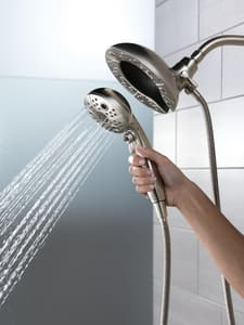 Delta Faucet In2ition® 2 gpm 5-Setting Showerhead D58480PK