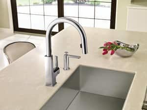 Moen Sto™ 1-Hole High Arc Kitchen Faucet with Single Lever Handle MS72308E