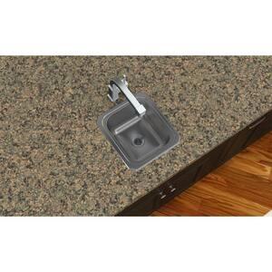 Elkay Gourmet Celebrity® 13 X 15 In. Single Bowl Top Mount Bar Sink No Hole EBCFR1315