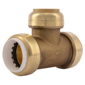 Sharkbite PVC x CTS Brass Straight Transition Fitting SUIP364
