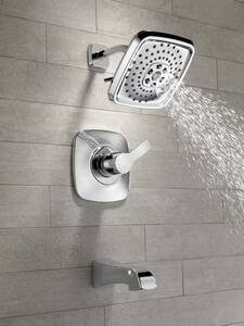 Delta Faucet Tesla® 2 gpm Tub and Shower Trim with Single Lever Handle (Trim Only) DT14452