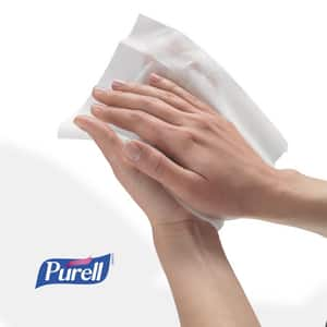 Purell® Hand Sanitizing Wipes 1500-Count (Case of 2) for Gojo Purell 9023-06 Wipes Dispenser G911502