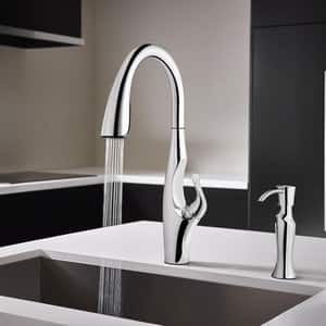 Pfister Kai™ 1-Hole Pull-Down Kitchen Faucet with Single Lever Handle PGT529IH