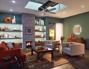 Kichler Lighting 3000K 15W 1-Light Ceiling Light Fixture in White KK43846WHLED30