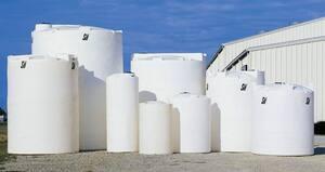 Snyder 1500 gal HDLPE Vertical Storage Tank S1770000N45 at Pollardwater