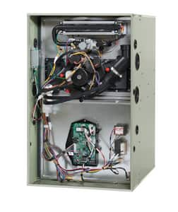 Trane S9V2 17-1/2 in. 96% AFUE 3 Ton Two-Stage Upflow and Horizontal 1/2 hp Natural or LP Gas Furnace TS9V2BU3PSAA
