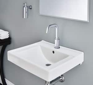 American Standard Decorum® 1-Hole Wall Mount Lavatory Sink in White A9024001EC020